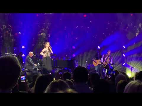 Billy Joel and Alexa Ray Joel, New York State of Mind, MSG 2/14/19