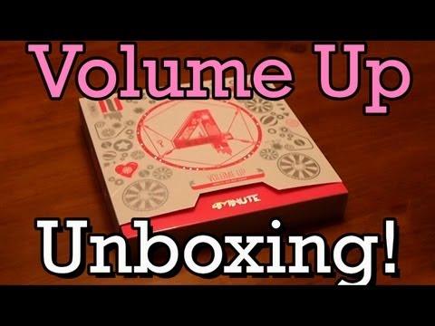 Unboxing - 4Minute Album (Volume Up)