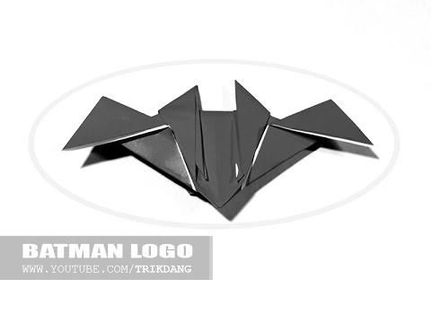 How To Make An Origami Batman Logo