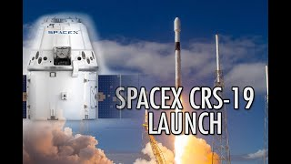 Фото Spacex Crs-19 Launch Falcon 9 Mission To Resupply The Iss