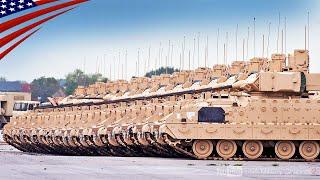 【戦車が6,000両以上も!】アメリカ軍の戦車や大砲などは幾つあるのか?陸上兵器の数を紹介
