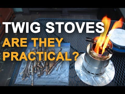 Backcountry Cooking:  Twig Stoves:  Practical or Novelty?