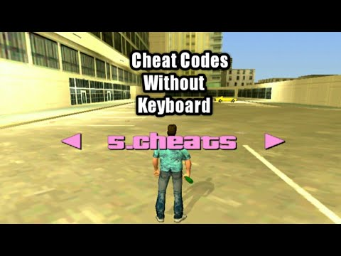 How To Use Cheat Codes In GTA Vice City Without Keyboard (Android)