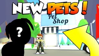 *NEW* PETS!?!? 🐱🐶 In Roblox Adopt Me! (CUTE)