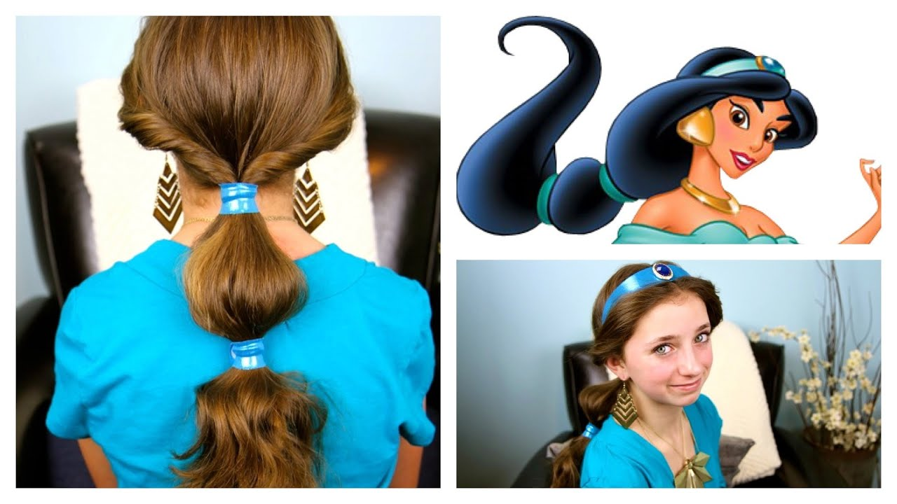 jasmine hairstyle tutorial