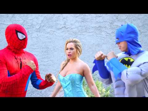 Spiderman vs Superhero Funny Pranks Compilation