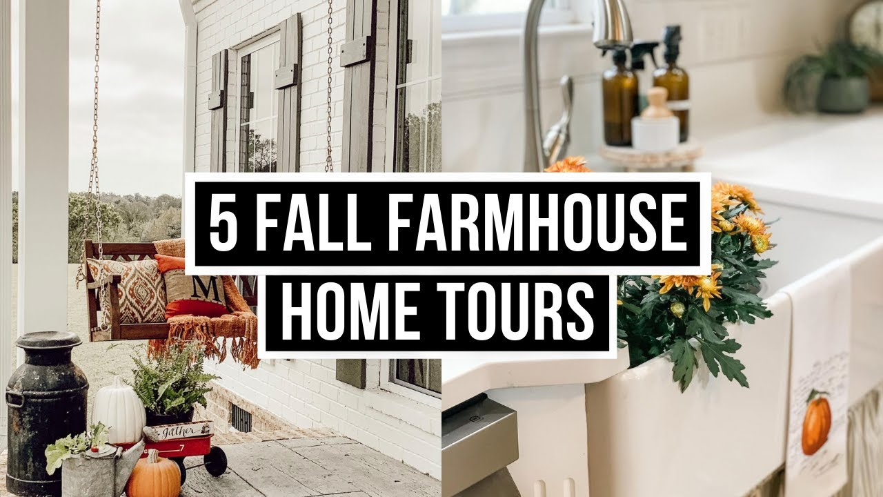 5 Antique Farmhouse Home Tours for Farmhouse Decor Fanatics!