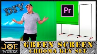 DIY: Build your own Green Screen, Chroma Key or Virtual Set.