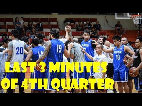 2018 ASIAN GAMES LAST 3 MINUTES OF 4TH QUARTER PHILIPPINES VS KAZAKHSTAN
