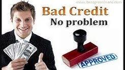 BAD CREDIT? NO PROBLEM! Personal Loans & Payday Loans 100% Guaranteed Approved