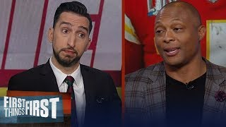 'Chiefs dynasty all starts with Patrick Mahomes' — Eddie George | NFL | FIRST THINGS FIRST