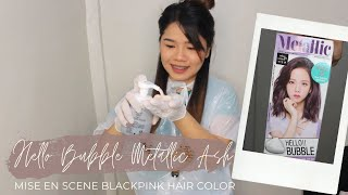 Hair Coloring with Blackpink H…
