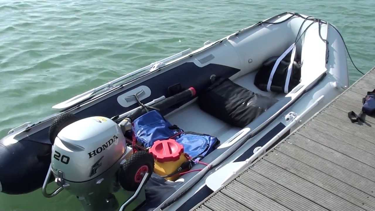 Honwave Ie 3 8 Honda 20hp On Warsash Jetty Youtube