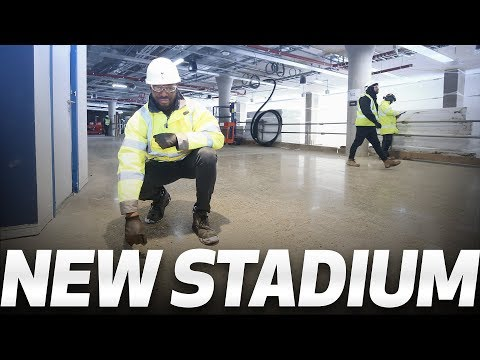 👀 FIRST LOOK! NEW STADIUM CONCOURSES   THE LANE LIVES ON