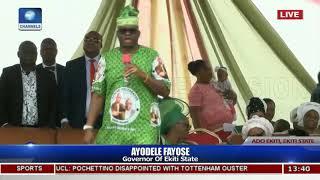 I Will Be President Of Nigeria Tomorrw, Fayose Vows