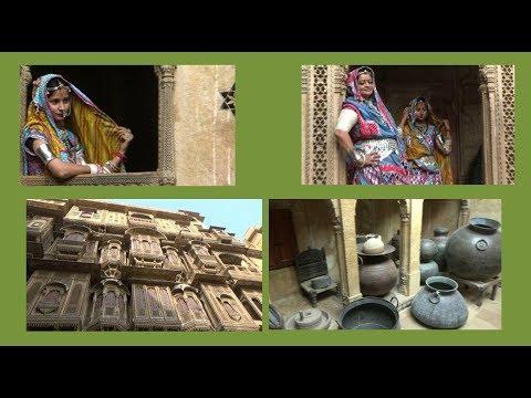 Patwon kI Haveli-   Jaisalmer - Rajasthan Tourism -  India