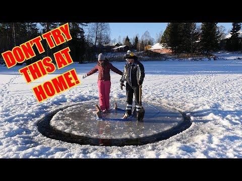 World fastest ice carousel