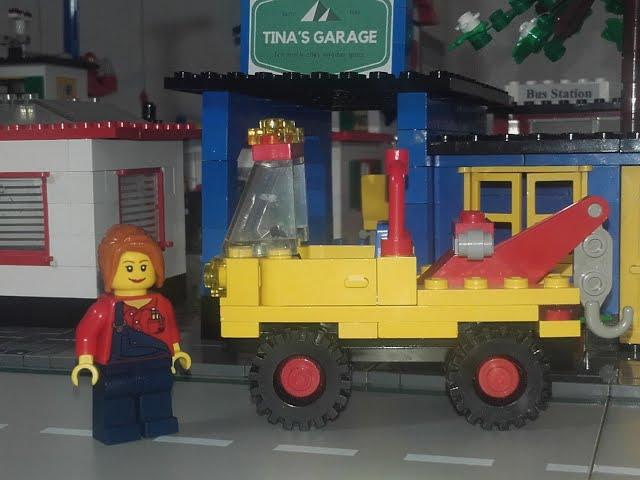 Tina schleppt gern Leute ab - LEGO Stop Motion