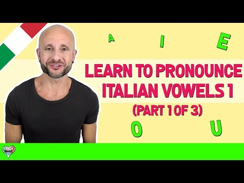 how to speak with an italian accent