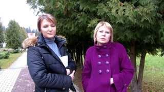 Александра Рыжова и Ольга Беззаботнова. Череповец