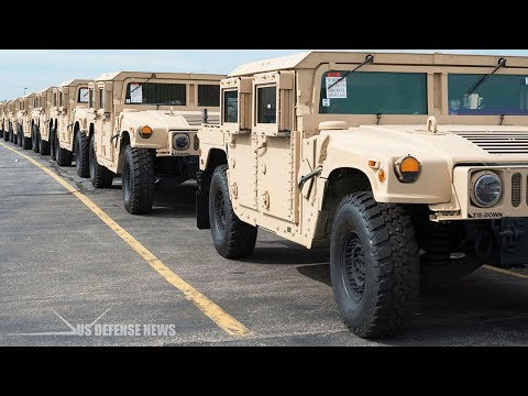 AM General Contracted to Modernize U.S. Army's Humvee Vehicles