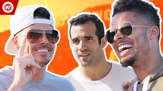 F2Freestylers vs. Danell Leyva, Olympian | F2 GOES HOLLYWOOD