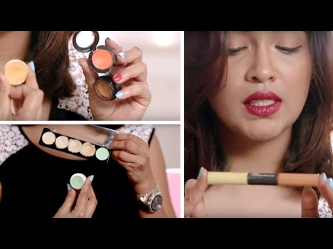 How To Select The Right Shade Of Corrector | Makeup Tips