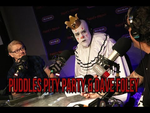 Puddles Pity Party & Dave Foley instudio on Jonesy's Jukebox