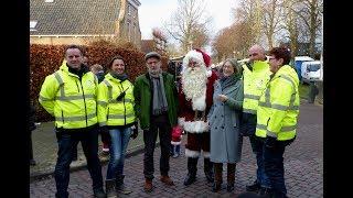 Burgemeester Salet opent kerstmarkt / Heenvliet 2017