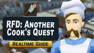 Realtime Recipe for Disaster: Another Cook&#39s Quest - RS3 Quest Guide 2020