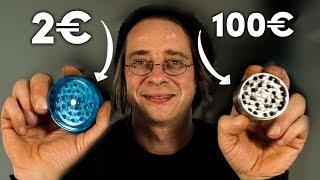 2€ Grinder vs. 100€ Grinder!