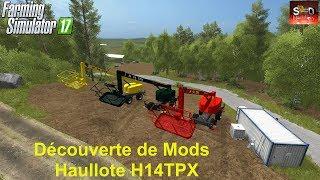 "[""farming simulator 17 haullote h14tps nacelle telescopique tp travaux forestier""]"