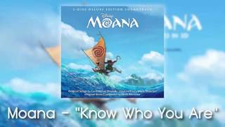 Moana - Know Who You Are