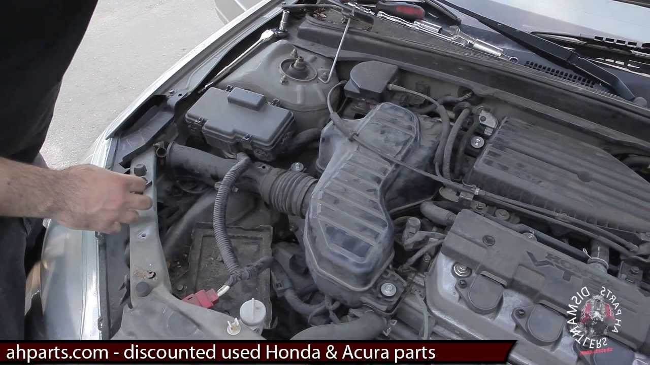Air Intake Resonator Box How To Replace Install Fix Change 01 02 03 Mitsubishi Mirage Engine Diagram Starter Section 04 05 Honda Civic Replacement