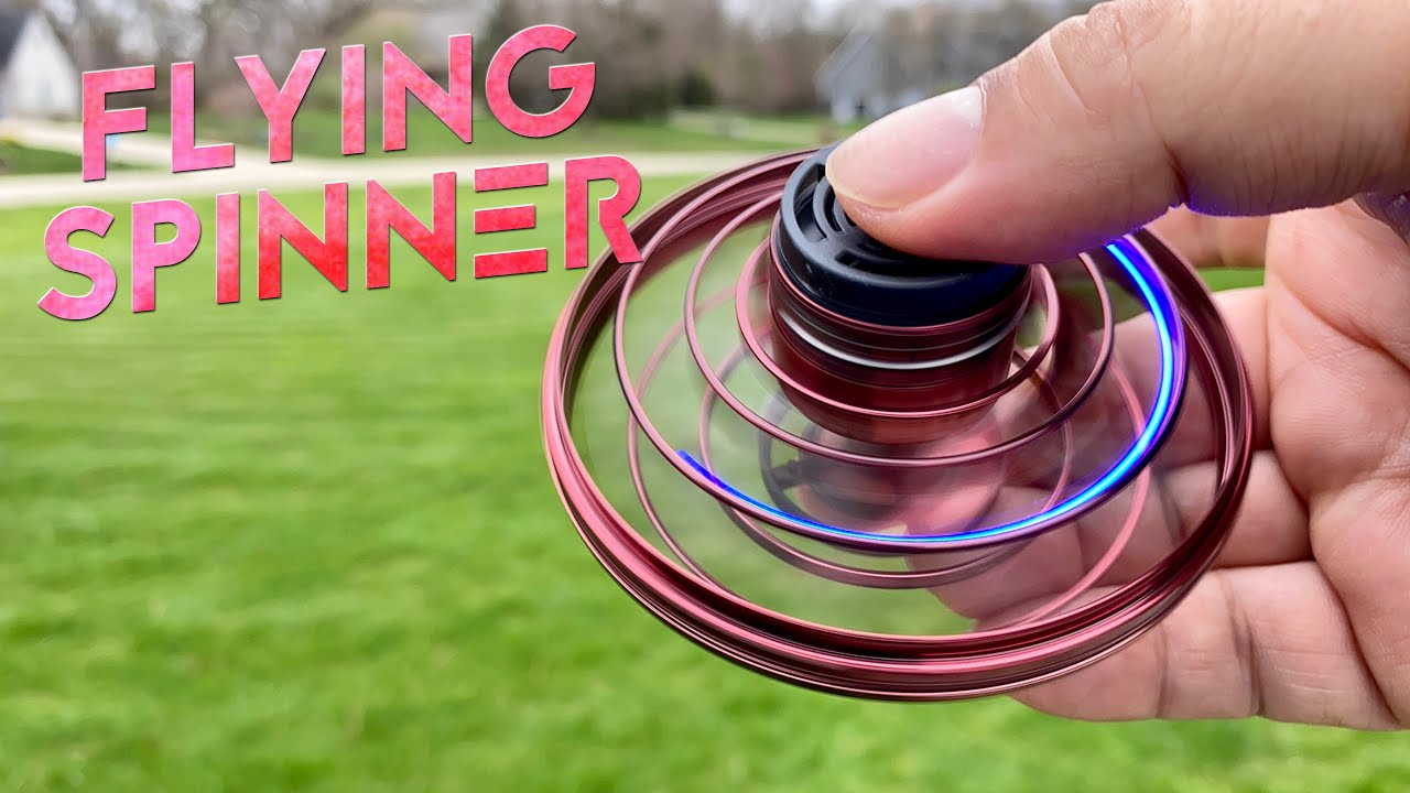 Mini Drone Spinning Flying Toy Review