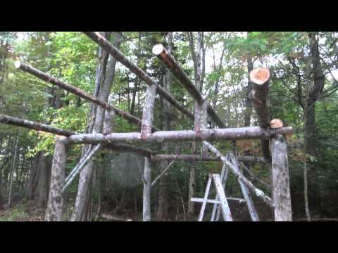 How to build an inexpensive pole building Part 2