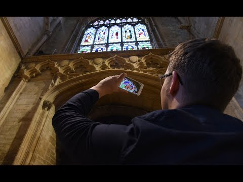 England's Historic Cities AR App - Lincoln Cathedral