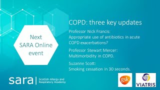 SARA - COPD: three key updates