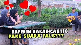 BAPERIN KAKA CANTIK PAKE SUARA FALS? KOCAK PARAH!!!