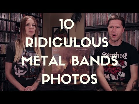 10 Ridiculous Metal Bands Photos