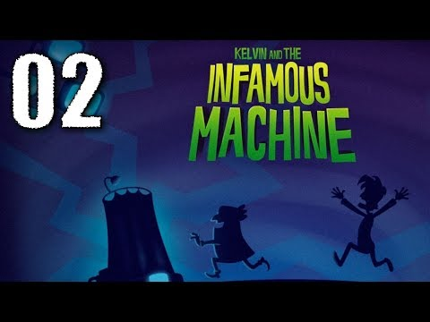 """Let´s Play """"Kelvin and the Infamous Machine"""" #02 (German/Deutsch) ADVENTURE-TIME!!! [HD+]"""