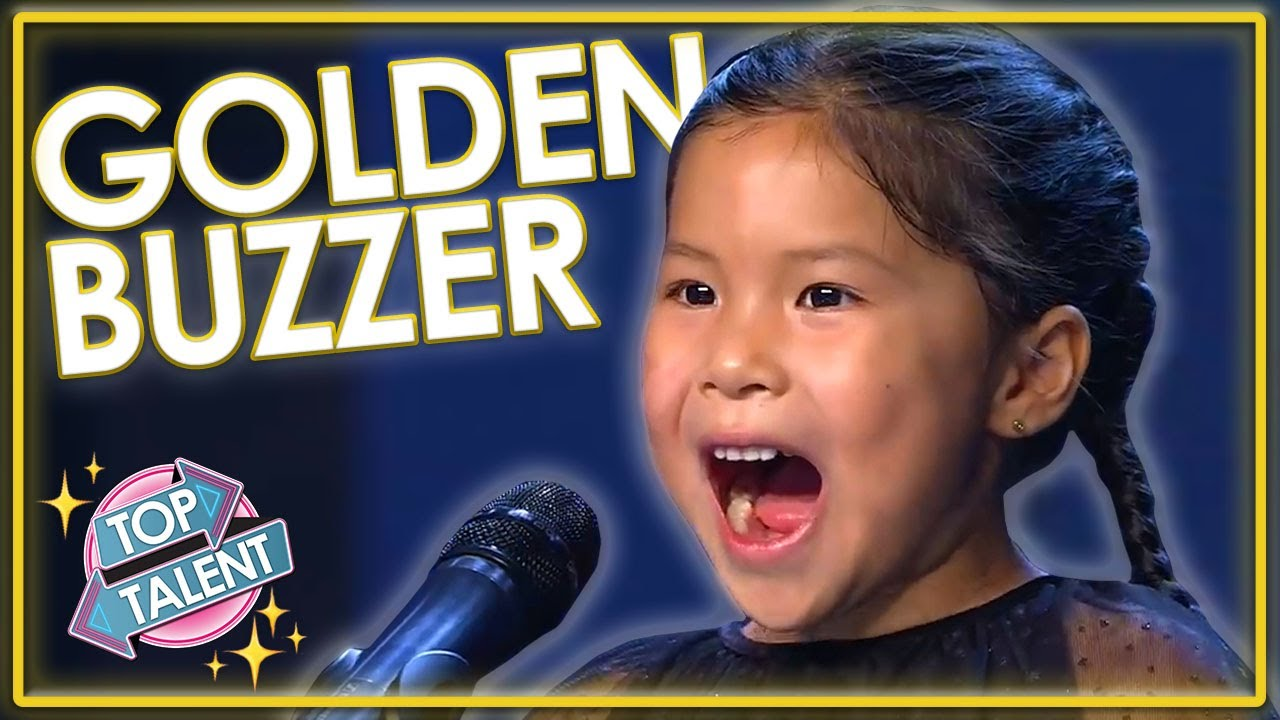 GOLDEN BUZZER | ADORABLE Kid Violinist Audition On Spain's Got Talent! | Top Talent