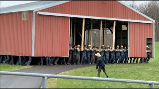 Amish Shed Move