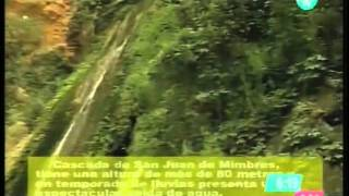 Cascada de San Juan de Mimbres en Galeana NL