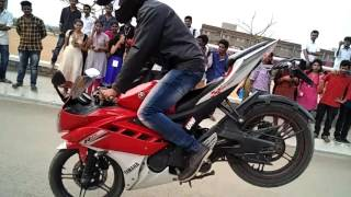 Bike stunts in Gni 2016