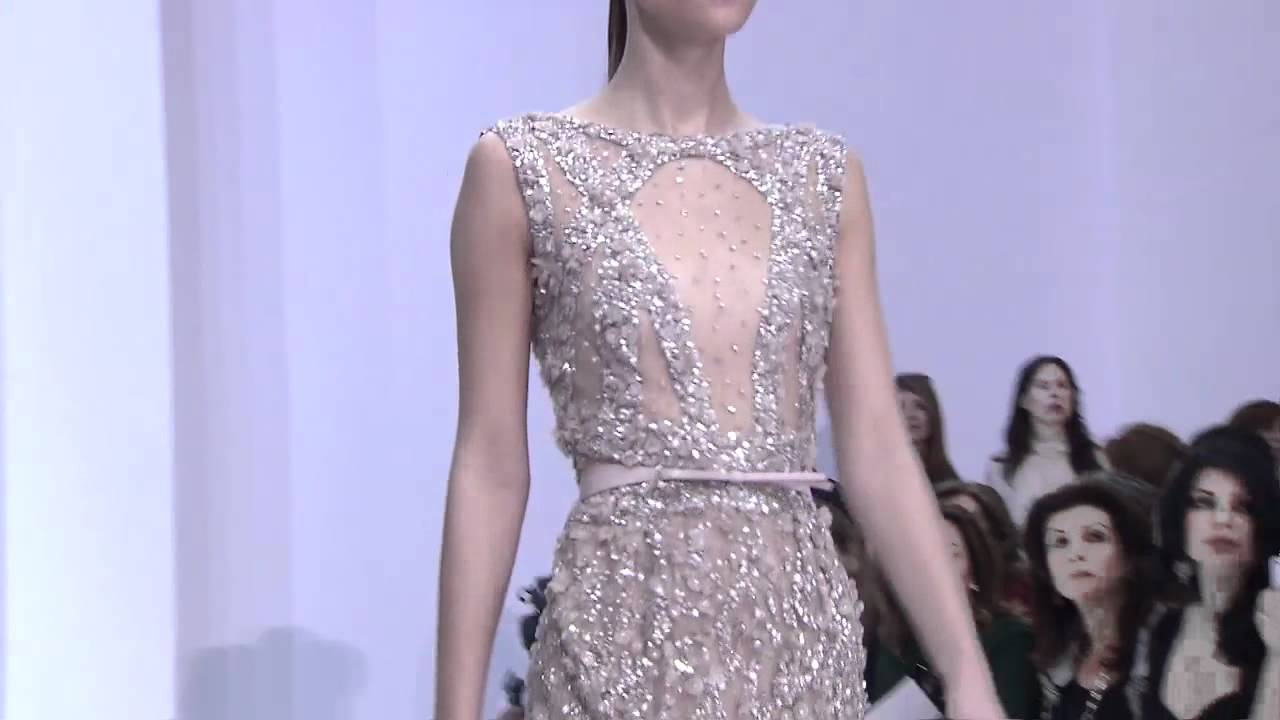 ELIE SAAB HAUTE COUTURE SPRING SUMMER 2012 FASHION SHOW - YouTube
