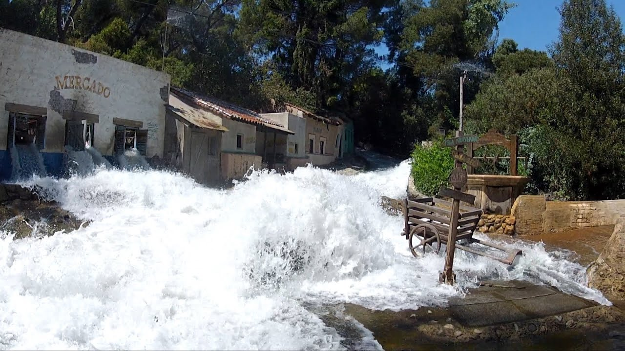 Universal Studios Studio Tour Flash Flood
