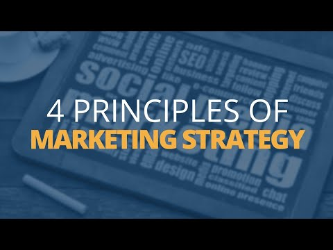 4 Principles Of Marketing Strategy