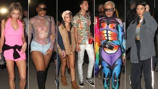 Celebrities Storm 2018 Coachella Weekend 1!: Kourtney Kardashian, Amber Rose And More!