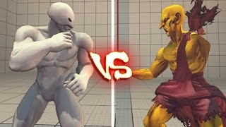 Ultra street fighter 4 PC - Twelve vs Oro (3rd strike)